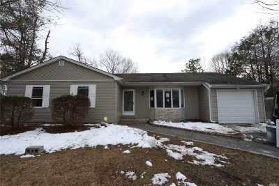 Middle Island Single Family Home For Sale: 8 Shelley Dr