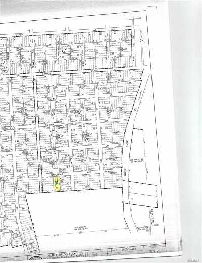 Middle Island Residential Lots & Land For Sale: Mapledale Ave