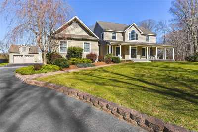 Mattituck Single Family Home For Sale: 5807 Westphalia Rd