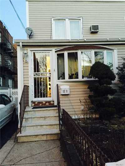 Flushing Single Family Home For Sale: 32-11 Jordan St.