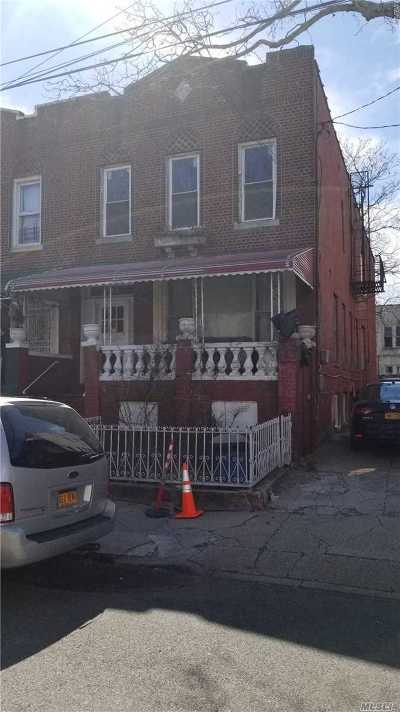 Brooklyn Multi Family Home For Sale: 742 Wyona St