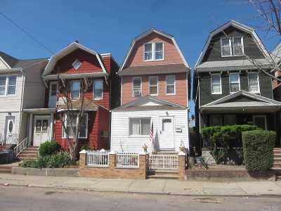 Woodhaven Single Family Home For Sale: 91-24 89th St