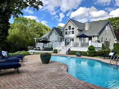 Center Moriches Single Family Home For Sale: 9 Belle Harbour Ct