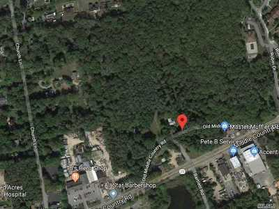 Middle Island Residential Lots & Land For Sale: Old Middle Count Rd