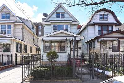 Elmhurst Single Family Home For Sale: 42-70 Hampton St
