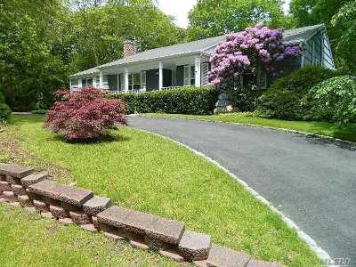 Hampton Bays Single Family Home For Sale: 6 Higbee Rd