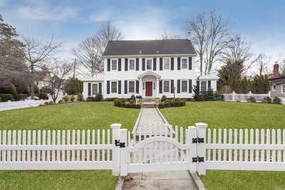 Rockville Centre Single Family Home For Sale: 195 Hempstead Ave