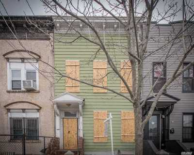 Brooklyn Multi Family Home For Sale: 341 Essex St