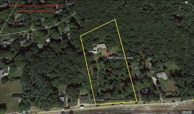 Calverton Single Family Home For Sale: 1640 Sound Avenue