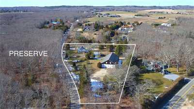 Water Mill Single Family Home For Sale: 53 Narrow Ln