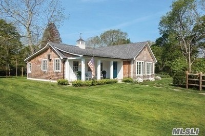 Water Mill Single Family Home For Sale: 93 Lower 7 Ponds Rd