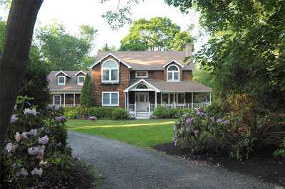 Setauket Single Family Home For Sale: 39 Old Field Rd