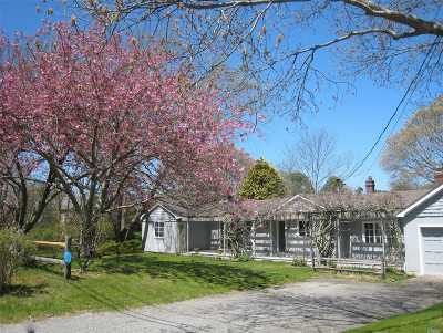 Southampton Single Family Home For Sale: 49 Highland Rd