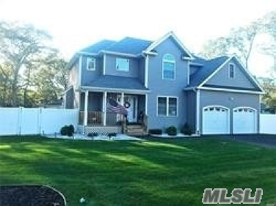 Manorville Single Family Home For Sale: 500 Weeks Ave