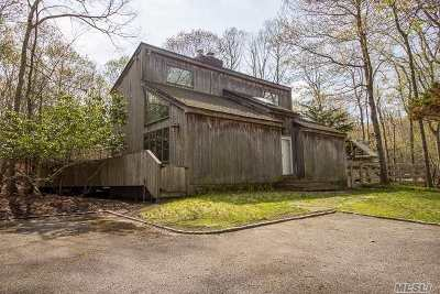 Sag Harbor Single Family Home For Sale: 497 Brick Kiln Rd
