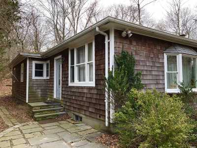Sag Harbor Single Family Home For Sale: 170 Hampton St