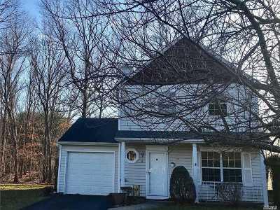 Coram Single Family Home For Sale: 4 Mallard Path