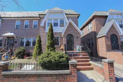 Jackson Heights Single Family Home For Sale: 34-24 71st St