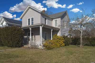Patchogue Single Family Home For Sale: 45 Maple Ave