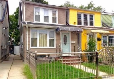 Ozone Park Single Family Home For Sale: 109-24 126th St