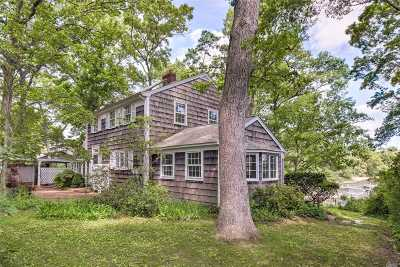 Mattituck Single Family Home For Sale: 855 Lupton's Point Rd