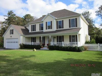 Hampton Bays Single Family Home For Sale: 22 Fortune Cookie Ln