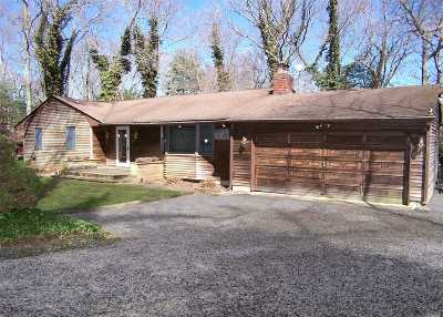 Middle Island Single Family Home For Sale: 25 Bartlett Rd