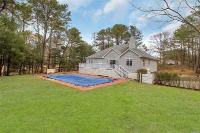 Southampton Single Family Home For Sale: 89 Ridge Rd