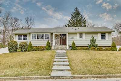 Setauket NY Single Family Home For Sale: $499,999
