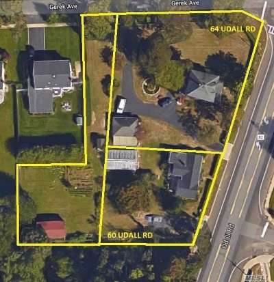 West Islip Single Family Home For Sale: 60/64/Lot Udall Rd