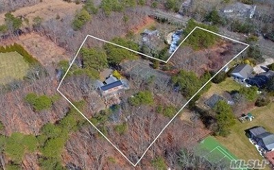 Quogue Single Family Home For Sale: 145 Montauk Hwy