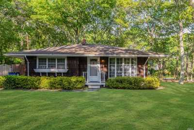 Hampton Bays Single Family Home For Sale: 10 Head Of Cove Rd