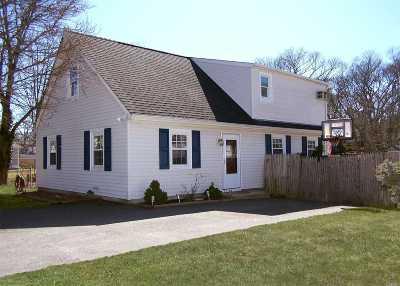 Selden Single Family Home For Sale: 128 S Evergreen Dr