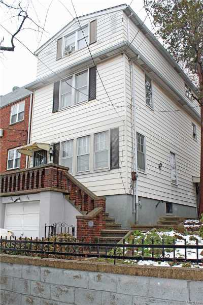 Woodside Single Family Home For Sale: 31-24 60th St