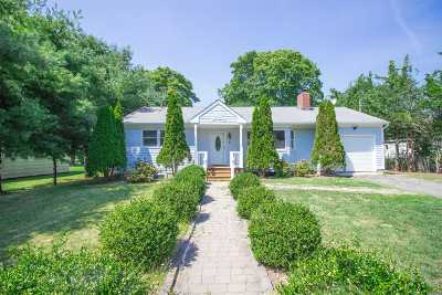 Hampton Bays Single Family Home For Sale: 4 Linda Ln