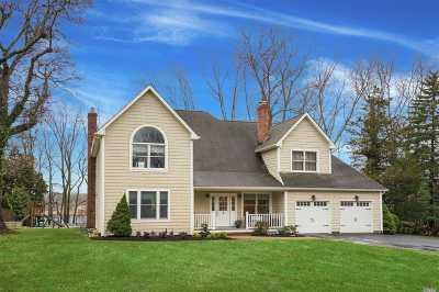 Setauket NY Single Family Home For Sale: $995,000