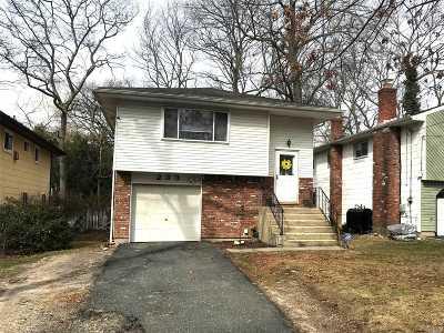 Ronkonkoma Single Family Home For Sale: 233 Fir Grove Rd