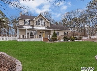 Manorville Single Family Home For Sale: 201 Dayton Ave