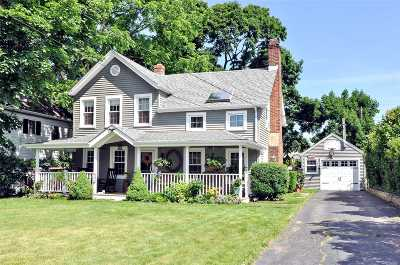 East Norwich Single Family Home For Sale: 86 Vernon Ave