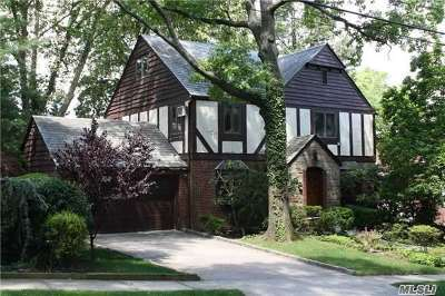 Jamaica Estates Single Family Home For Sale: 179-43 Tudor Rd