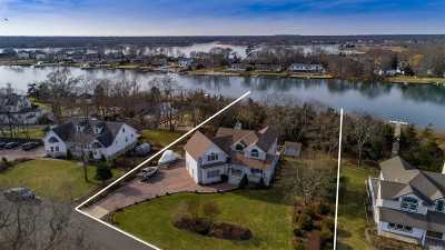 Center Moriches Single Family Home For Sale: 16 Egret Way