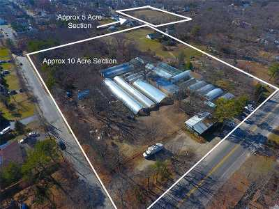 central Islip Residential Lots & Land For Sale: 992 Connetquot Ave