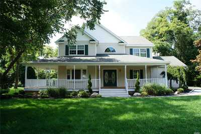 Center Moriches Single Family Home For Sale: 24 Egret Way
