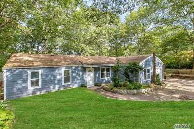 Hampton Bays Single Family Home For Sale: 5 Rolling Woods Ln