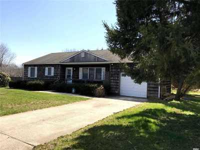 Aquebogue Single Family Home For Sale: 243 Shade Tree Ln
