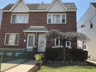 Ozone Park Single Family Home For Sale: 84-06 133 Ave