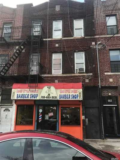 Brooklyn Multi Family Home For Sale: 661 Blake Ave