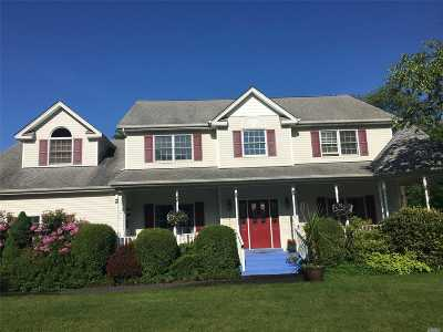 Center Moriches Single Family Home For Sale: 8 Shannon Ct