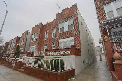 Jackson Heights Multi Family Home For Sale: 32-47 82nd St