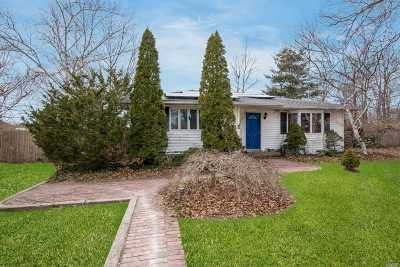 East Moriches Single Family Home For Sale: 2 Newport Beach Blvd